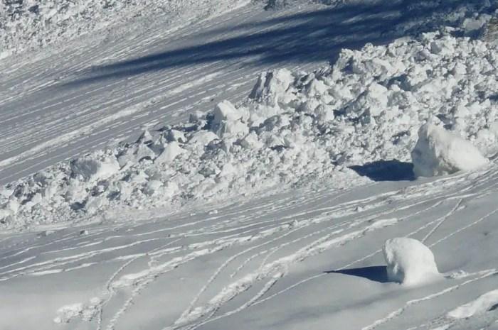 Après une heure sous une avalanche : 19% de chances de survie !