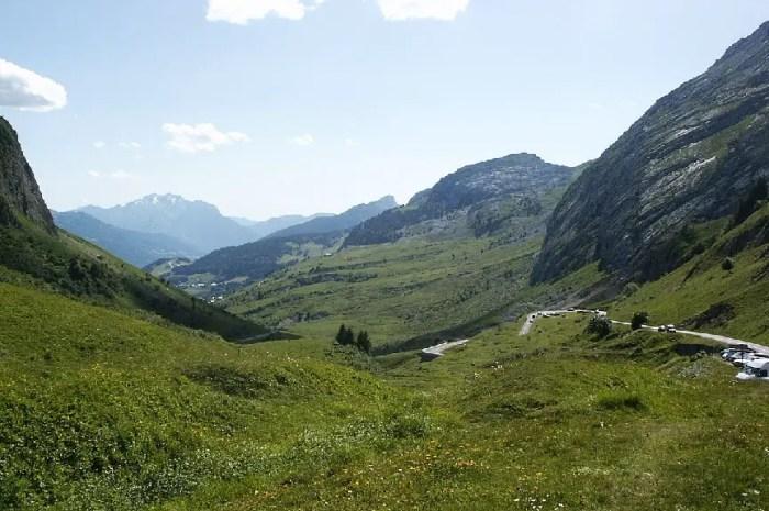 L'étape de montagne : Le Grand Bornand via le Col de la Colombière