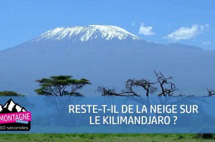 Reste-t-il de la neige sur le Kilimandjaro, sommet mythique d'Afrique ?