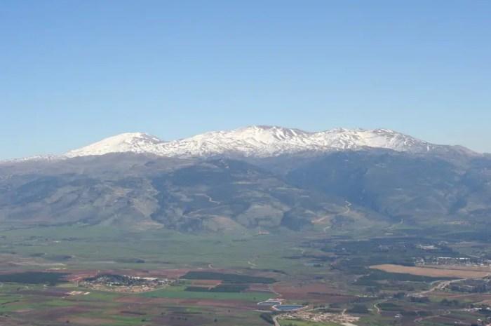 Mont Hermon : elles skient aux confins d'Israël, du Liban et de la Syrie !
