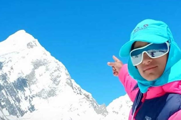 A 12 ans, elle part en expédition sur le Broadpeak et vise l'Everest !