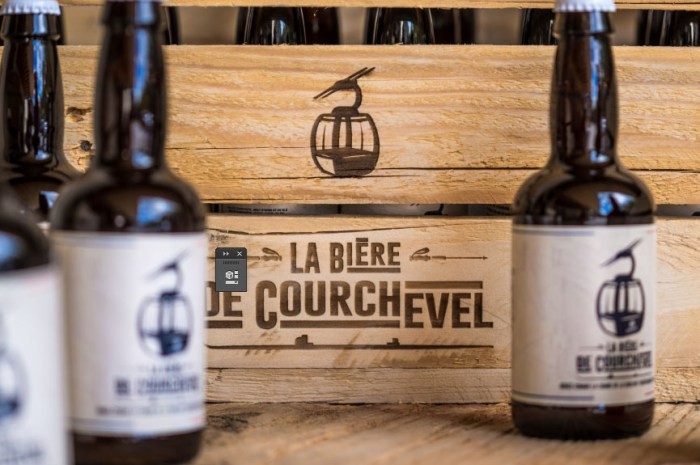 Fini le champagne ? Lancement de la bière de Courchevel !