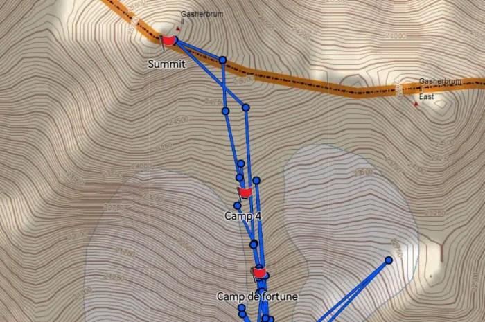 Des Français au sommet du Gasherbrum II avant une descente à ski !