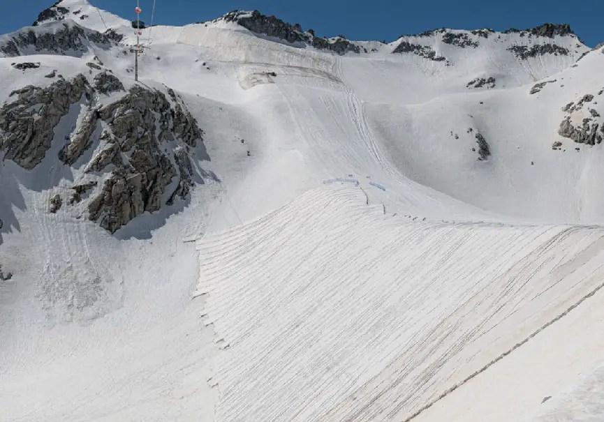 glacier couvertures