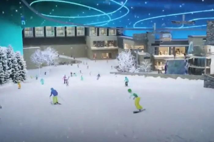L'Arabie Saoudite veut devenir une nation de ski, sans neige !