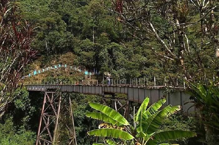 Accident de saut à l'élastique au cœur des Andes colombiennes
