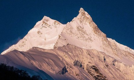 sommet Manaslu