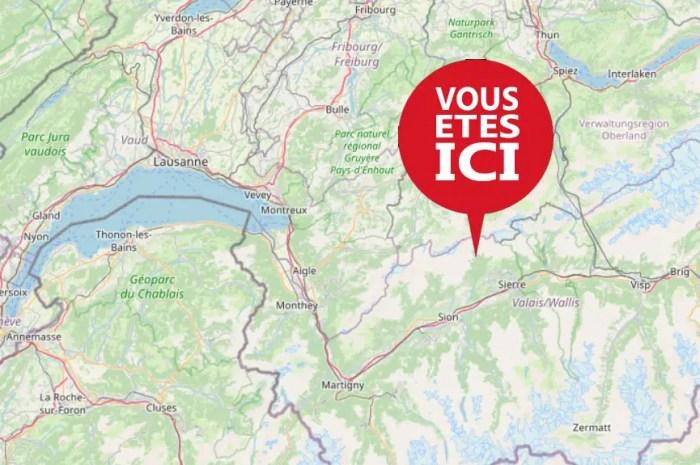 « Ma Cabane au Canada » est bien située en Suisse !