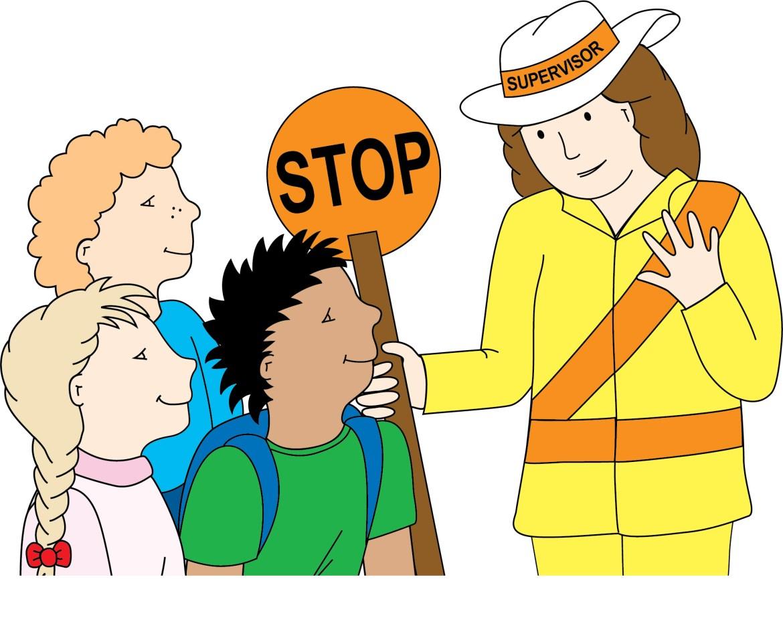 Safety Crossing Illustration