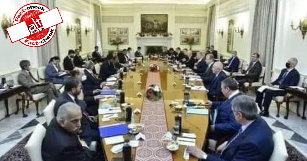 दिल्ली में भारत और रूस की मीटिंग हुई, इसकी तस्वीर को 5 बड़े देशों की इंटेलिजेंस एजेंसी की मीटिंग बताया