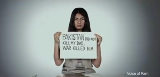 Pakistan did not kill by dad, war killed him.