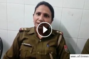 sushma yadav who was thrashed when she stopped bjp mla chetram's car