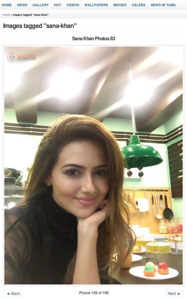 Sana Khan - All Cine Gallery
