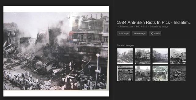 1984 riots Chandni Chowk