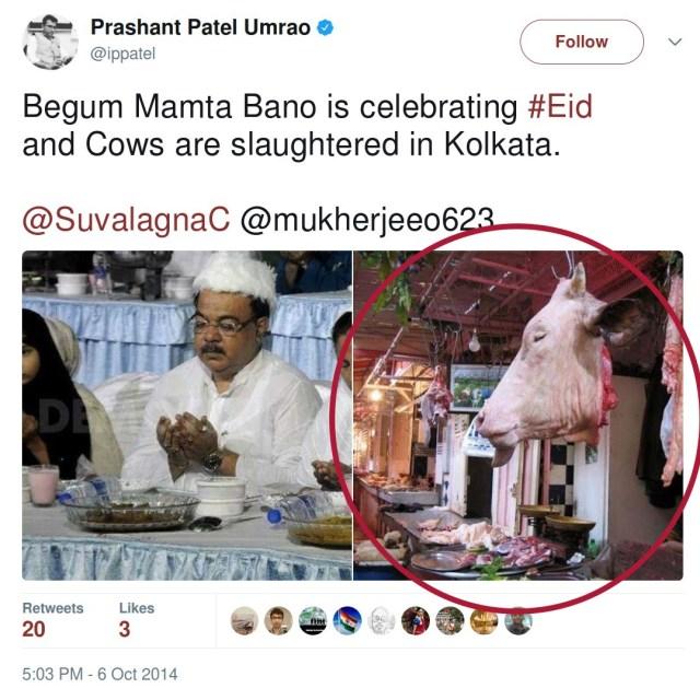 Prashant Patel circulates fake image