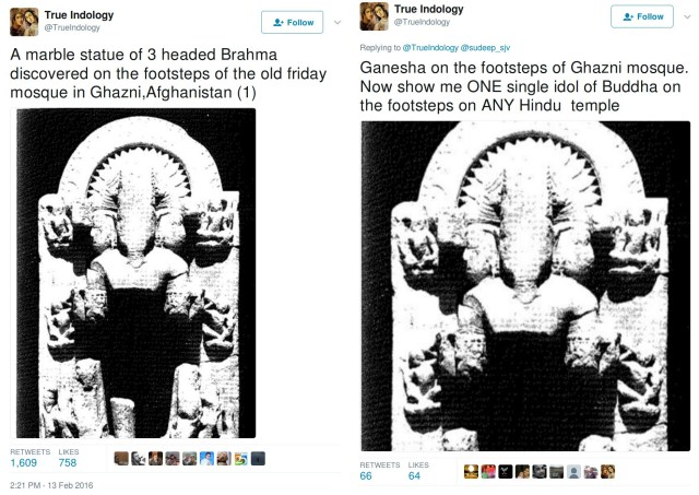 Trueindology, brahma in 2016, Ganesha in 2017