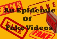 An epidemic of fake videos