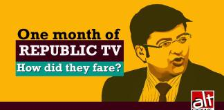 One month of Republic TV