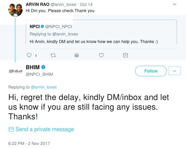 send a dm, send a dm