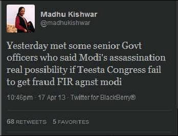 Is it true? A day in Madhu Kishwar's WhatsApp University