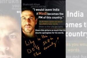 Sharukh khan FI