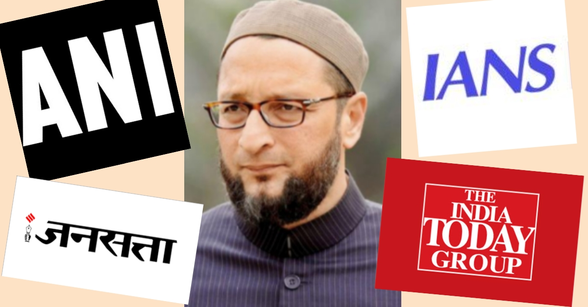 Owaisi's heckling in Parliament reported using clickbait titles with communal overtones - Alt News