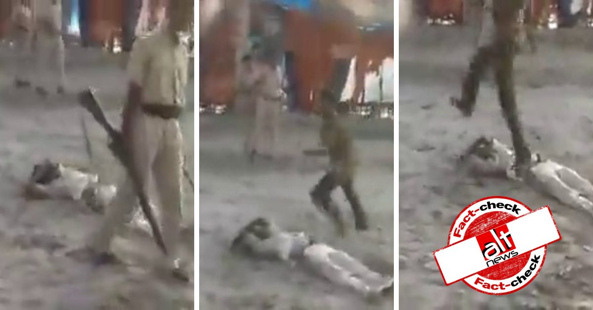 Video from Bihar shot in 2013 shared as police violence against Muslims in Assam