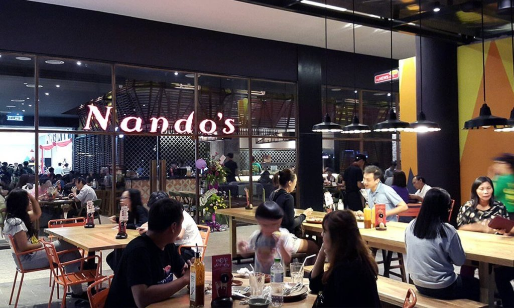 Nando's Vivacity Renovation and Furniture Fitting Works | Front Views