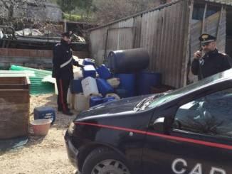 Ladro di gasolio denunciato dai Carabinieri di Gualdo Tadino, sarebbe bene mandarlo via Aveva 100 taniche in plastica vuote e 6 piene di carburante
