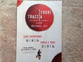 Gubbio, presentata III edizione rassegna teatrale Fuori traccia