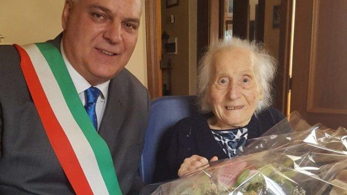 Nocera Umbra capitale centenari, cento anni di nonna Alberta