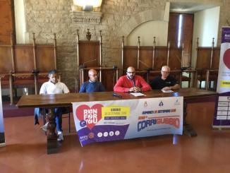 Run for you e 32esima Corri Gubbio, presentato programma