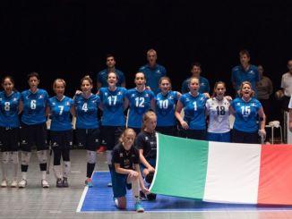 La Nazionale femminile sitting volley sarà a Nocera Umbra