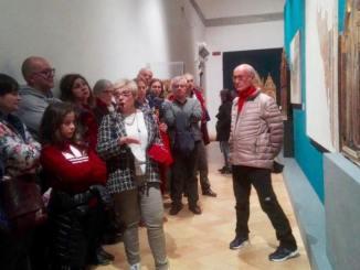 Successo per la visita notturna alla mostra, Gubbio al tempo di Giotto