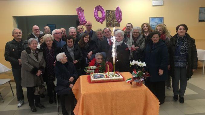 Il Sindaco Presciutti ha festeggiato i 100 anni di Palmina Bianconi