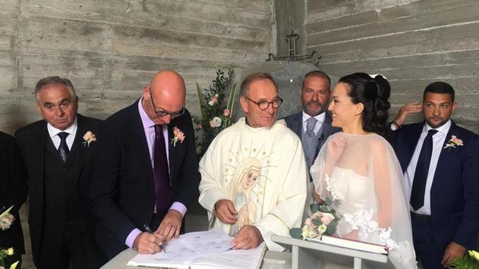 Famiglia di Amatrice adottata da Gualdo Tadino si è sposata