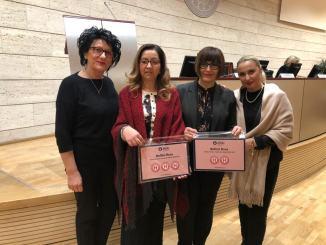 Bollini rosa, l'ospedale di Gubbio-GualdoTadino ne ha ricevuto due