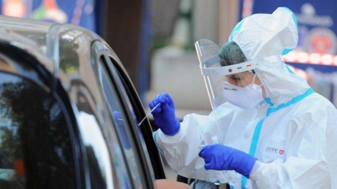 Oltre 100 tamponi negativi, Covid, 4 nuovi casi a Gubbio