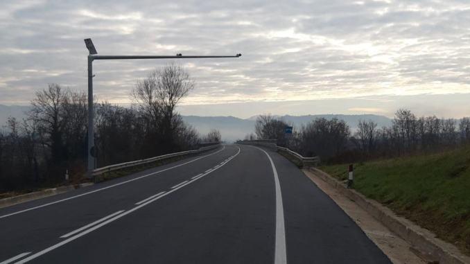 Umbria, Anas, completati lavori SS219 tra Torre Calzolari e Padule