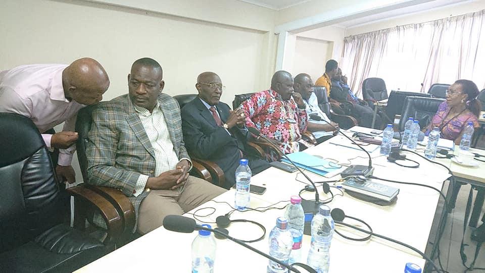Gabinete de eleição do Presidente do HCC