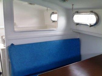 Cabina lato sinistro e cucinino
