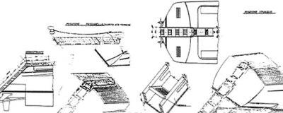 Restauro barche in lamellare di mogano
