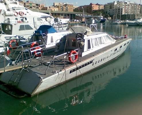 Drago V4000 - V4011 ex motovedette della Guardia di Finanza