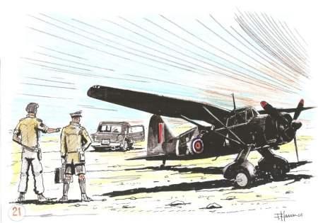 Maggiore Smith aereo Lysander