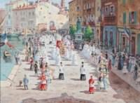 August Pegurier La procession Saint Tropez