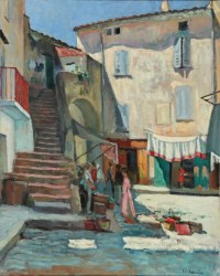 Charles Camoin La place aux herbes