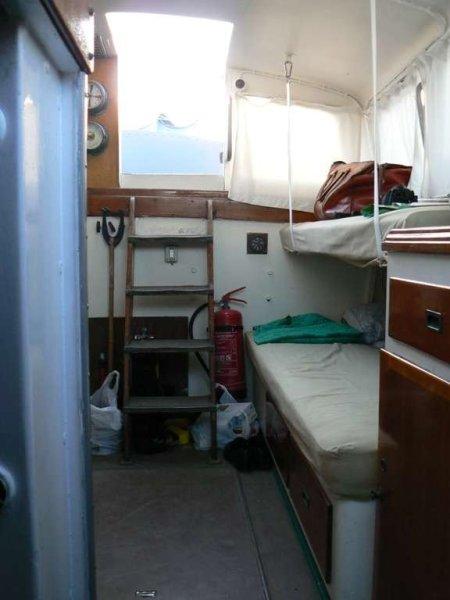 Baglietto Gielle 330 - interni cuccette