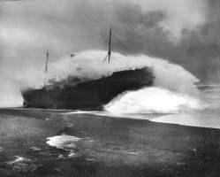 Tripolitania, naufragata il 26 dicembre del 1912