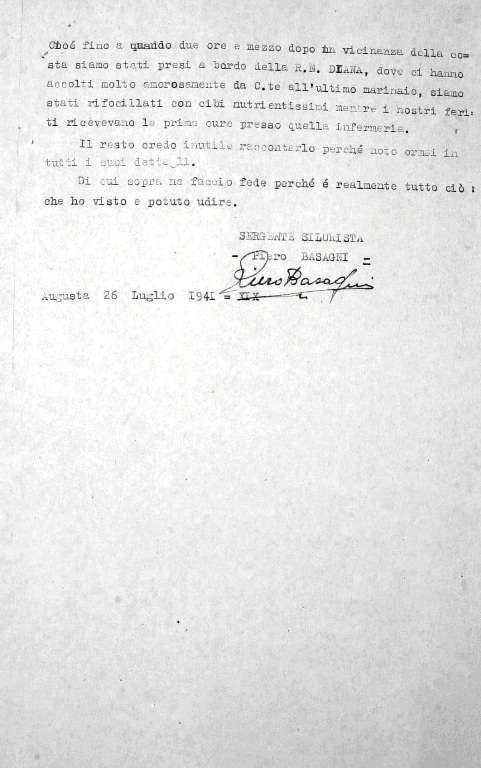 Testimonianza 4d - Sergente Silurista Piero Barsagni