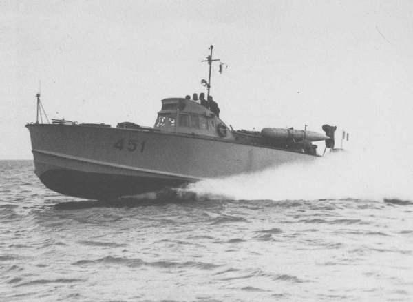MAS 451 in navigazione